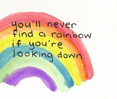 April 3 - National Find a Rainbow Day ~ Not food but it's on the list! You'll never find a rainbow if you're looking down