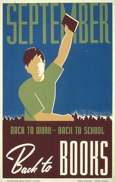 Che piacesse o no, intanto al ritorno a scuola si aveva una bella pila di libri nuovi.