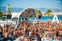 Fotos aus dem Club Zrce Beach (Novalja / Insel Pag) im Sommer 2014. Freundlicherweise zur Verfügung gestellt von Klemen Stular. Get ready for Zrce 2015 #pag