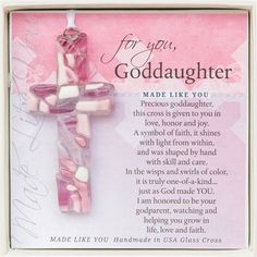 For that one-of-kind Goddaughter, a one-of-a-kind gift.
