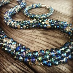 Find our free pattern for this #kumihimo #necklace at www.primabead.com