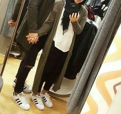 Image shared by Pınar Çildam. Find images and videos about couple, hijab and muslim on We Heart It - the app to get lost in what you love. Latest Disney Movies, Two Way Street, Abaya Dubai, Islamic Girl, Muslim Couples, Hijab Fashion, Couple Goals, Cute Couples, New Look