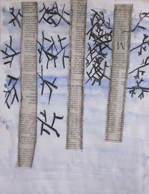 Kaarisillan kuvataide: Jänis loikki pellon poikki Winter, Painting, Winter Time, Polar Bears, Projects, Art Education Resources, Painting Art, Paintings, Painted Canvas