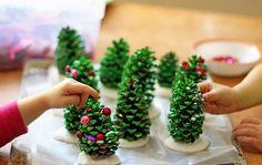 16 bezaubernde Bastelideen für Weihnachten …, auch zum Basteln mit Kindern!