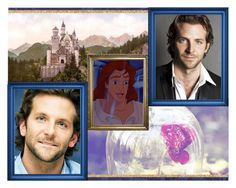 """Disney Dreamcast: Bradley Cooper as The Beast/Prince Adam"" by amarie104 ❤ liked on Polyvore featuring art"