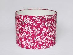 Blossom Print Lampshade in Pink