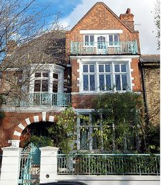 Peter Pan... The house where J. M. Barrie wrote his timeless children's classic Peter Pan. The semi-detached Victorian property is in Gloucester Road, opposite Kensington Gardens where the author met the Llewelyn-Davies children who inspired his stories about the Lost Boys.