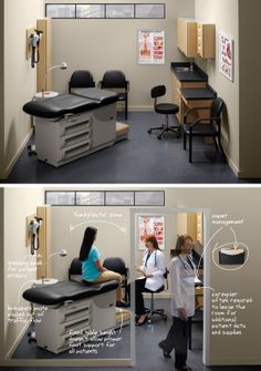 Midmark - Traditional Exam Workflow A. #officedecor interior #architecture