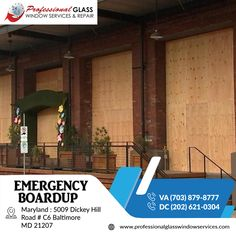 Washington Dc Area, Glass Repair, Glass Replacement, Maryland, Virginia, Commercial, Windows, Board, Outdoor Decor
