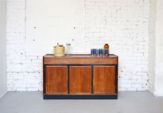 Mid Century Modern Walnut Bar Cabinet / by departmentChicago
