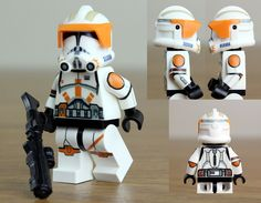Lego Custom Clones, Custom Lego, Lego Minifigs, Lego Technic, Star Wars Clone Wars, Lego Star Wars, Lego Words, Costum, Amazing Lego Creations