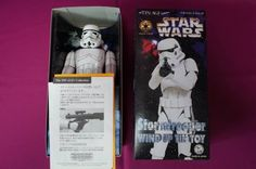 NEW! Star Wars StormTrooper Osaka Tin Toy Institute Figure Import Japan 834