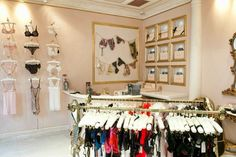 Lingerie Retail Architecture Dolci Follie Boutique London