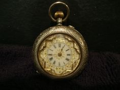 Ladies vintage pocket watch