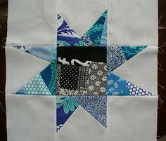 andie johnson sews: Pieced Liberated or Maverick Star Tutorial