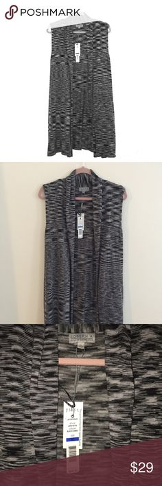 NWT Long Cardigan This is brand new! I bought it to wear to an event, and changed my mind! The material is nice and thick and soft. joseph A Sweaters Cardigans