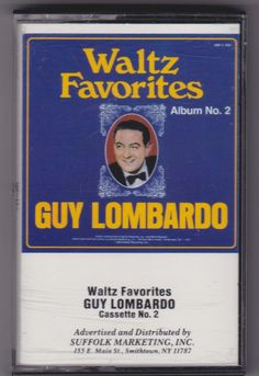 Waltz Favorites by Guy Lombardo Album No. 2 (Cassette, 1986, SMI) #BigBandSwing
