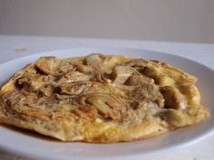 Articsokas omlett