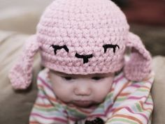 Lamby Hat Pattern FREE pattern. Geesh, this is adorable!! Love it, thanks so xox