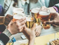 Prost! 9 German Expressions That Will Come in Handy at Oktoberfest German Toast, Best Summer Beers, Most Popular Beers, Happy Hour Specials, Food Specials, Liquor Store, Craft Beer, Brewery, Half Pint