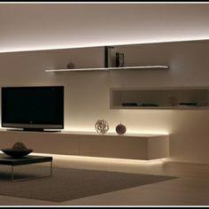Indirekte Beleuchtung Wohnzimmer Ideen