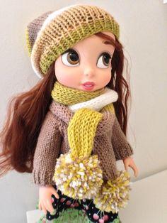 Winter Clothes / Disney Animator Doll Belle