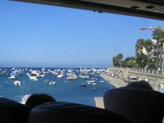 Bus trip through the harbor (I don't remember if it was in Valletta or Sliema)