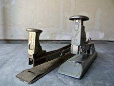 Vintage Swingline U0026 Bostitch Staplers   Industrial Office Supplies   Set Of  2