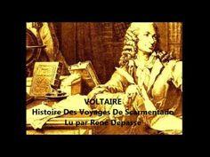 VOLTAIRE – Histoire Des Voyages De Scarmentado - YouTube
