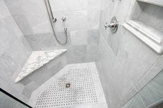 Marble Master Bath Remodel - traditional - bathroom - richmond - Leo Lantz Construction, Inc.