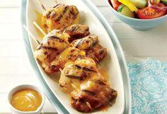 Poulet grillé, sauce barbecue maison