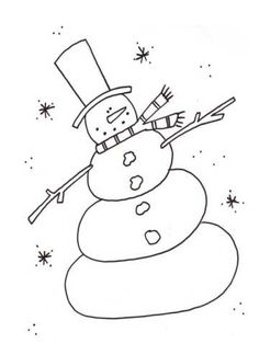 Fascinating snowman template with snow. Kids and adults can use this snowman template for crafts, stencils, sewing, coloring. Check out this delightfully happy snowman. Dance Coloring Pages, Snowman Coloring Pages, Free Christmas Coloring Pages, Coloring Books, Christmas Colors, Christmas Snowman, Christmas Crafts, Christmas Ideas, Sketches