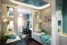 Aménagement chambre d'enfant dans un appartement