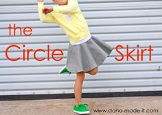 TUTORIAL: the Circle Skirt | MADE..... I've made two of these so far and they are SOOO easy and really cute!! My big girl and my little girl are going to look so pretty :) Can't wait for their faces tomorrow!