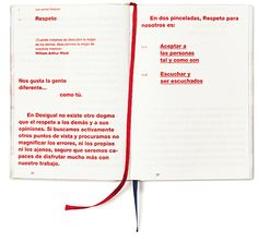Diseño de páginas interiores