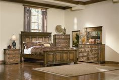 Edgewood White Cedar Bedroom Collection