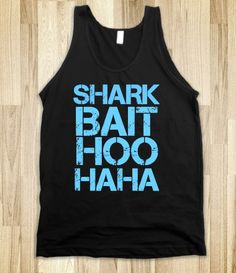 "Omg! This is my attention getter for my students. I say ""Shark bait"" and they respond with ""Hoo haha"" which means to stop talking and look at me. How funny! I def need this!!"
