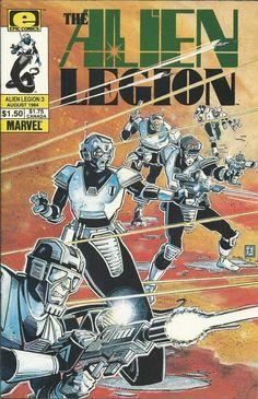 Alien Legion comic issue 3