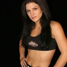 """""""Gina Carano has developed a reputation as one of the toughest female Muay Thai fighters in the world.After building a 12-1-1 record she was invited in 2007 to fight in one of the first female sanctioned events in Las Vegas. She won by unanimous decision. Since then she remains undefeated as an MMA fighter with a 6-0-0 record. Gina Carano also starred on the reality show Fight Girls as a mentor to the women on the show. Plus,she's scheduled to star in a movie & play a character in a video…"""