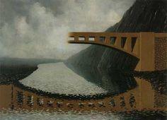 1935 - Magritte, Rene - Heraclitus' Bridge