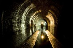 The gothic water tunnels beneath NYC where Nick works