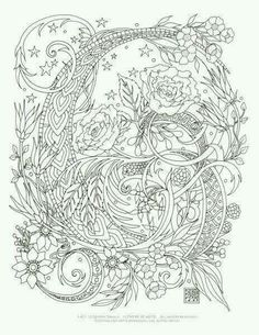 Print Coloring Pages Adult Mexican Embroidery Cut Work Colouring Etsy Shop Mandalas To