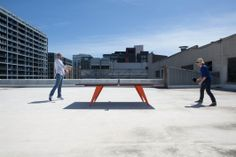 Lunch Meeting on the roof. Conference Table, Hardwood, Lunch, Design, Eat Lunch, Design Comics, Hardwood Floor, Lunches