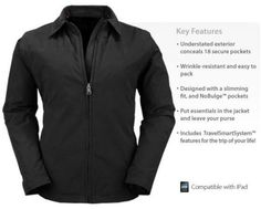 Scottevest Essential Travel Jacket.