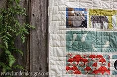 We are thrilled to welcome a dear friend of ours, Melissa Lunden of Lunden Designs , to the Fabricworm blog today. Melissa is showing us h...