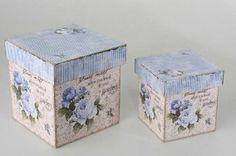 Caja estilo vintage