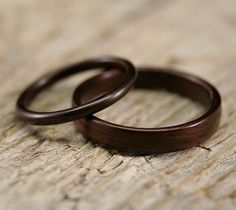 Classic Indian Rosewood Ring Set | Flickr - Photo Sharing!