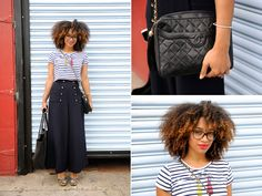 Her hair is just amazing. I don't want to stop looking at it. Celia Smith | Street Style New York Fashion Week
