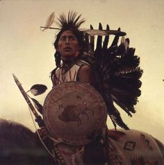Plains Indians | Young Plains Indian By James Bama