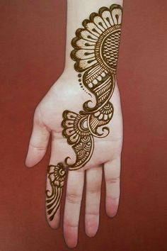 in this video tutorial i will show you very simple mehndi designs for hands Very Simple Mehndi Designs, Henna Tattoo Designs Simple, Full Hand Mehndi Designs, Henna Art Designs, Mehndi Designs For Girls, Mehndi Designs 2018, Mehndi Designs For Beginners, Mehndi Design Photos, Mehndi Designs For Fingers